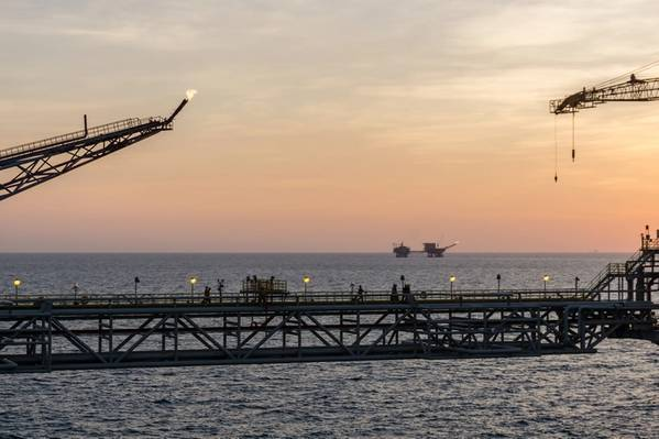 Illustration - An offshore platform in Malaysia - Credit:wanfahmy/AdobeStock