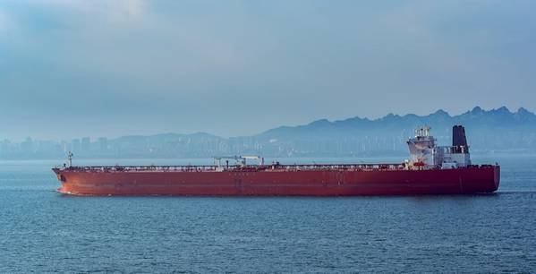 For illustration only - Crude oil tanker in front of Qingdao coastline - Image by Igor Groshev/AdobeStock