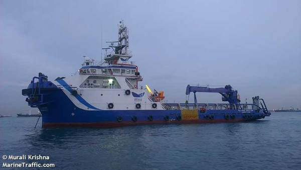 An Allianz Marine Offshore Vessel - Credit: Murali Krishna/MarineTraffic.com