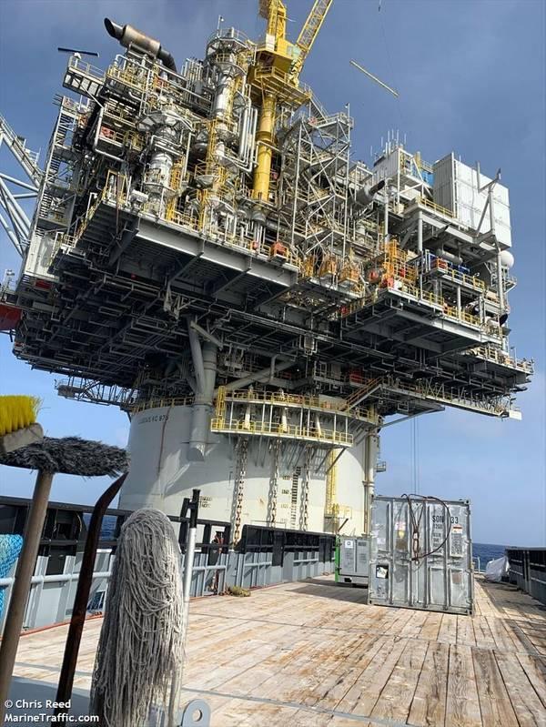 Lucius spar platform - Credit: Chris Reed/MarineTraffic.com