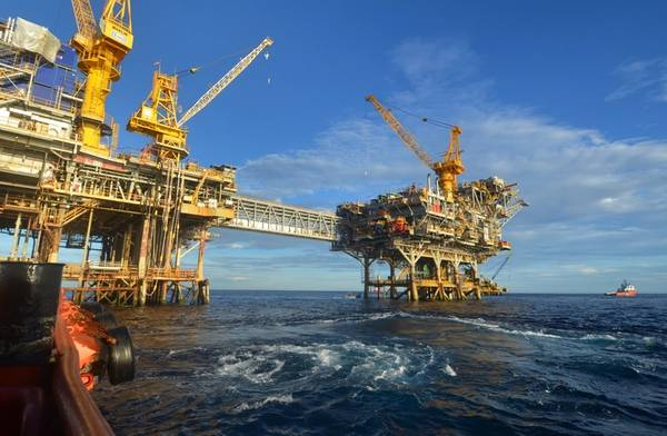 For illustration only - An offshore platform complex in Australia/ Credit; JOHN/AdobeStock