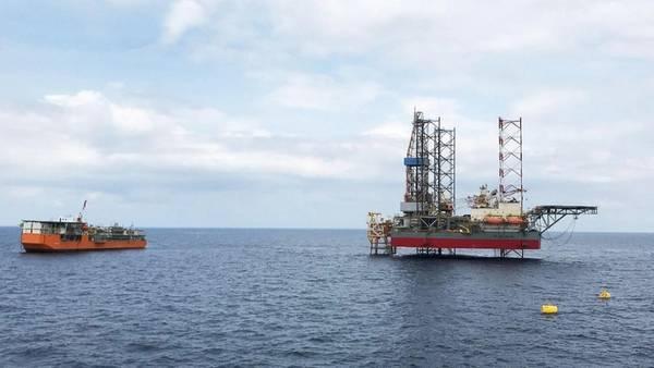 Offshore facilities at Block A - Credit: KrisEnergy