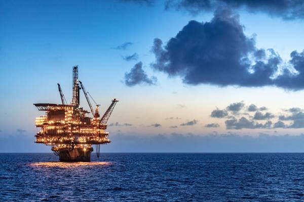For illustration: A Shell platform in the Gulf of Mexico - Credit: Stuart Conway/Shell