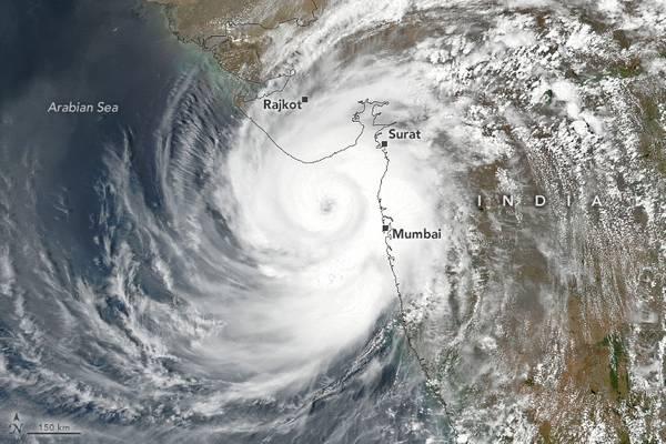 Cyclone Tauktae - Credit: NASA