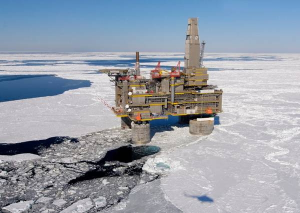 An offshore platform near Sakhalin Island - Credit: Sakhalin Energy