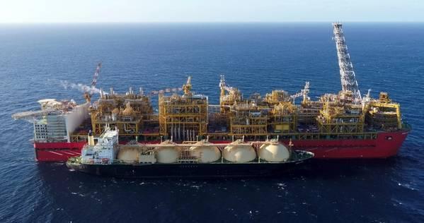 Illustration - Shell's Prelude FLNG unit in Australia / File Photo: Shell