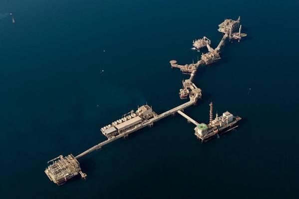 Offshore platform complex in the UAE (File Photo: ADNOC)