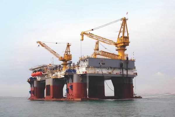 Illustration only - A Sapura offshore rig - Credit: Sapura Energy
