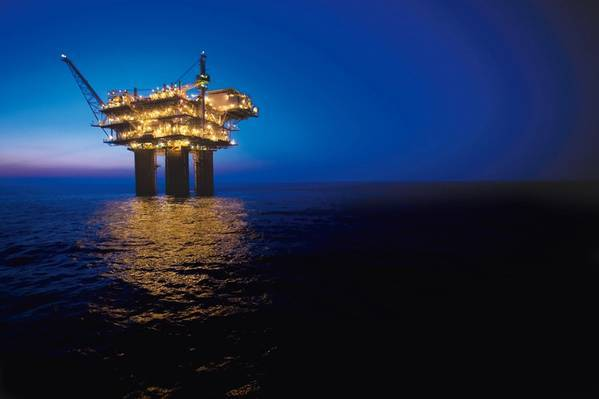 BHP's platform in the Gulf of Mexico - Credit: BHP