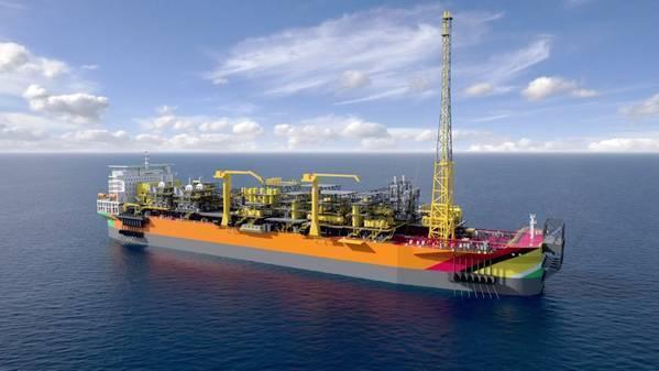 Payara FPSO render - Credit: ExxonMobil