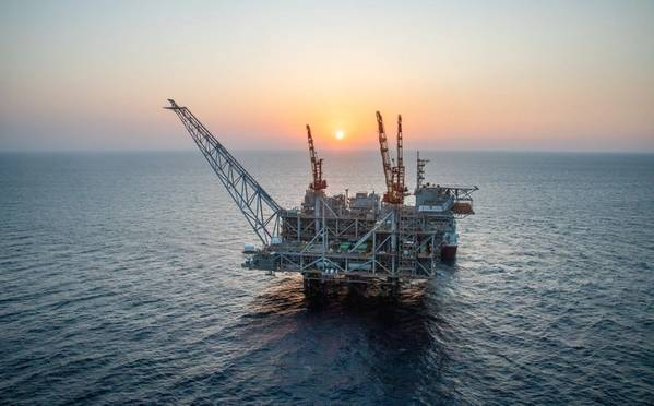 For Illustration: Leviathan field offshore Israel (File Photo: Noble Energy)