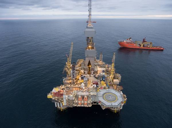 Faroe holds a 7.5 percent equity stake in the Njord field, operated by Equinor  (Photo: Thomas Sola / Equinor)
