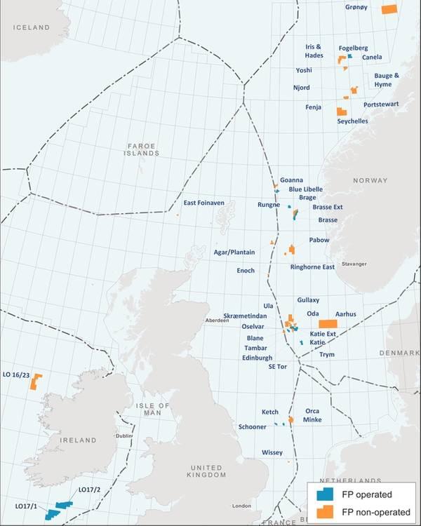 Faroe Petroleum's license portfolio (Image: Faroe Petroleum)