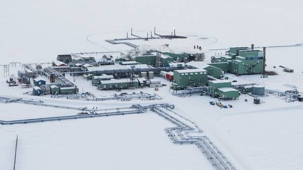 BP Alaska's Prudhoe Bay operations (Photo: BP)