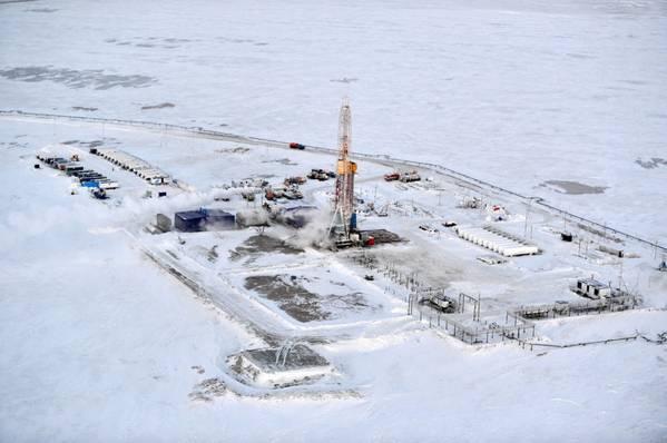Novoport field (Photo: Gazprom Neft)
