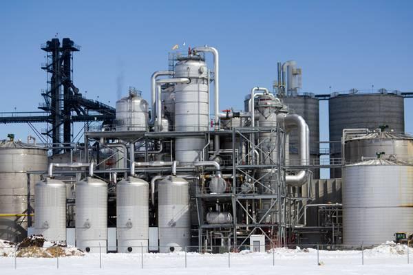 A midwest Ethanol plant (CREDIT: AdobeStock / © Jason Lee