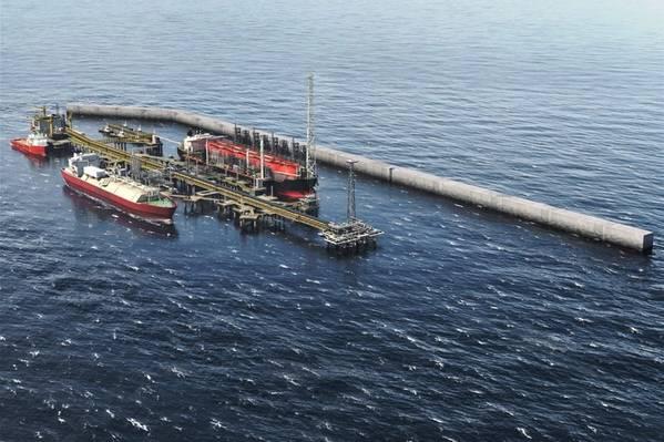 Greater Tortue Ahmeyim LNG development (Image: BP)