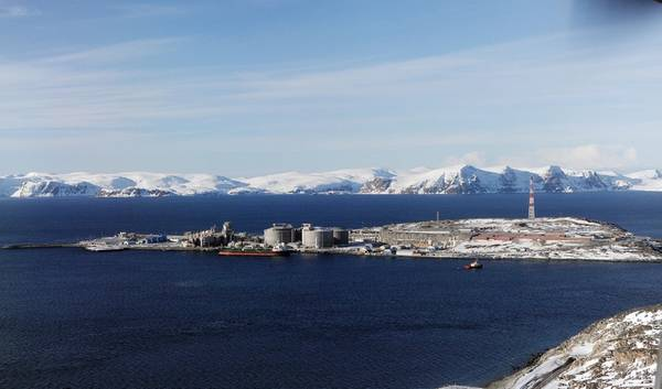 Hammerfest LNG plant (Photo: Harald Pettersen / Equinor)