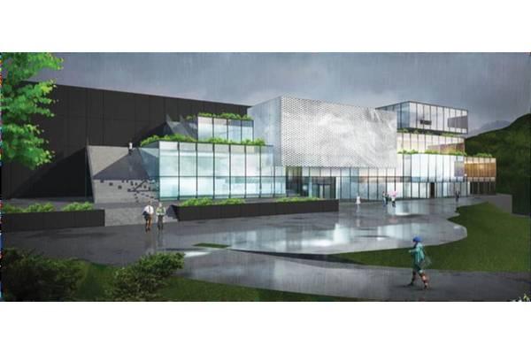 Powerful R&D: Unitech Offshore System's planned R&D Center an Giga Factory. Illustration: courtesy Unitech